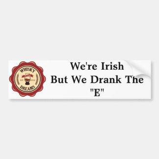 """We Drank the """"E"""" Bumper Sticker"""