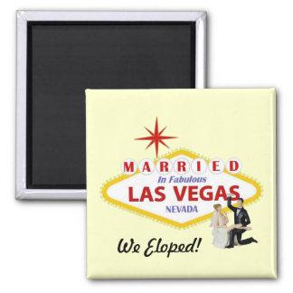 We Eloped! Married in Las Vegas Magnet