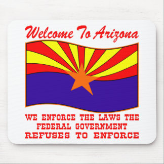 We Enforce The Laws the Federal Government Won't Mousepad