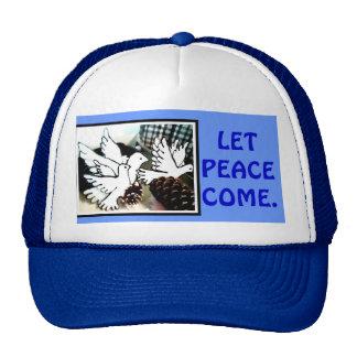 We enjoy the quiet. trucker hat