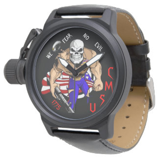 WE FEAR NO EVIL WRIST WATCH