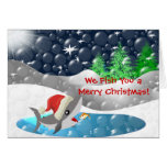 We Fish You a Merry Christmas Greeting Card