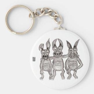 We Gargoyles Three Button Basic Round Button Keychain