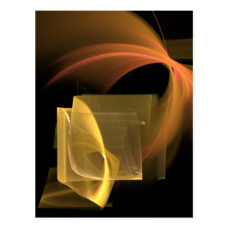 We Go Together Abstract Modern Art Postcard