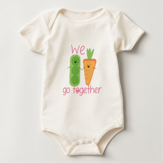 We Go Together Baby Bodysuits