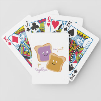 We Go Together Bicycle Playing Cards
