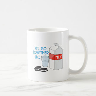 We Go Together Classic White Coffee Mug
