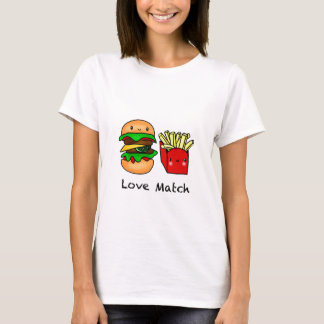 We go together like burger and fries personalized T-Shirt