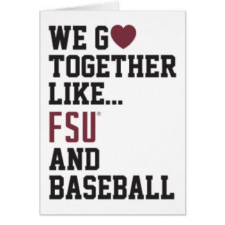 We Go Together Like FSU and Baseball Card