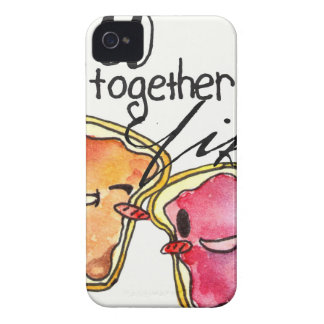 We Go Together like Peanut Butter and Jelly iPhone 4 Case