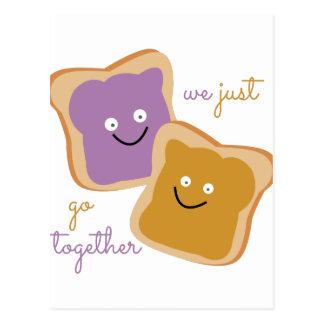 We Go Together Postcard