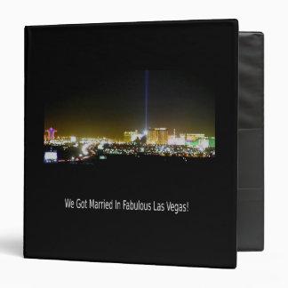 We Got Married In Fabulous Las Vegas! Album Binders