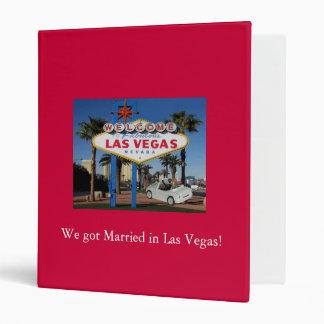 We got Married in Las Vegas Album Binder