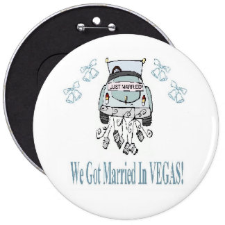 We Got Married In VEGAS! Colossal Button