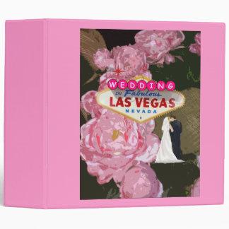 We Got Married Las Vegas Wedding Album 3 Ring Binders