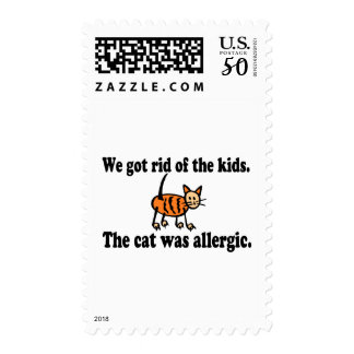 We Got Rid Of The Kids The Cat Was Allergic Postage