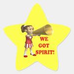 We Got Spirit 2 Star Sticker