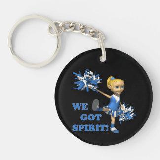 We Got Spirit Double-Sided Round Acrylic Keychain