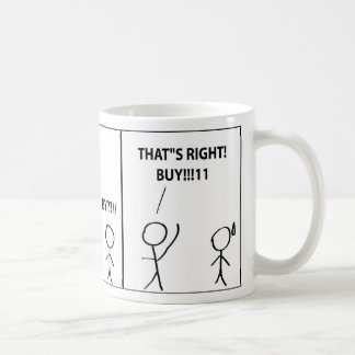 WE GOTTA HELP TEH ECONOMEY COFFEE MUG
