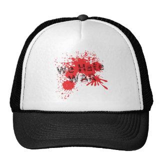 We Hate War Trucker Hat