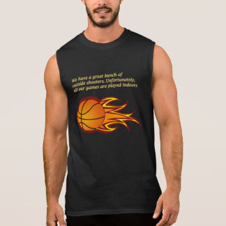 We have a great bunch of outside shooters sleeveless shirt