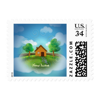 We Have a New Home | Adorable Postage