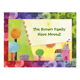 We Have A New Home Announcements Moving Postcards