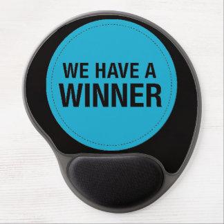 we have a winner gel mousepads