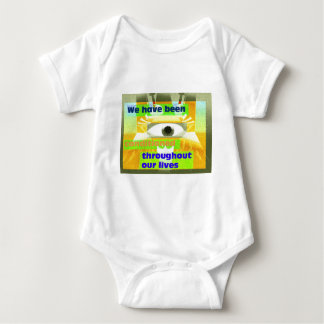 We have been conditioned baby bodysuit