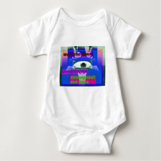 We have been conditioned throughout our lives baby bodysuit