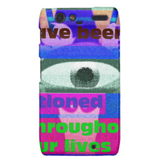 We have been conditioned throughout our lives motorola droid RAZR covers