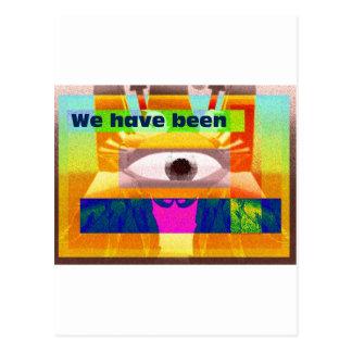 We have been postcard