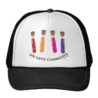 We Have Chemistry Mesh Hat
