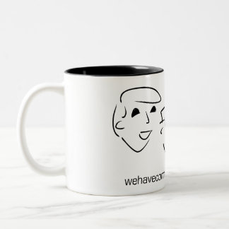 We Have Communicators Two-Tone Coffee Mug