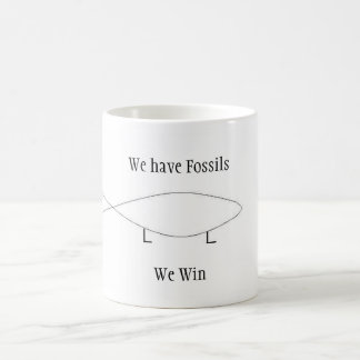 We have Fossils Classic White Coffee Mug