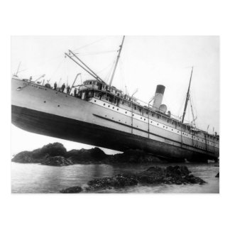 We Have Lift-Off: 1910 Postcard