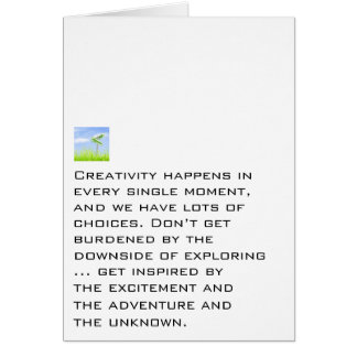 We Have Lots Of Choices Stationery Note Card