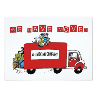 we have moved address change flat card