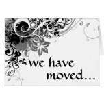 we have moved announcement