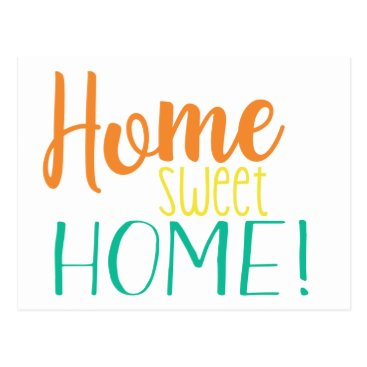 Beach Themed We Have Moved | Simple Postcard | Home Sweet Home