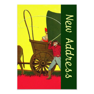 We Have Moved Wagon Train New Address Announcement