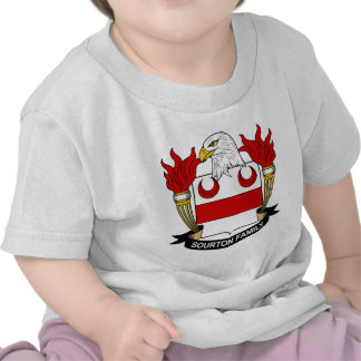 We have Sourton Family Crest t-shirts, mugs, hats,