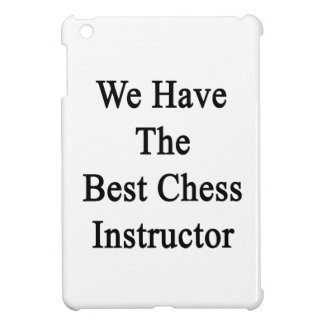 We Have The Best Chess Instructor Cover For The iPad Mini