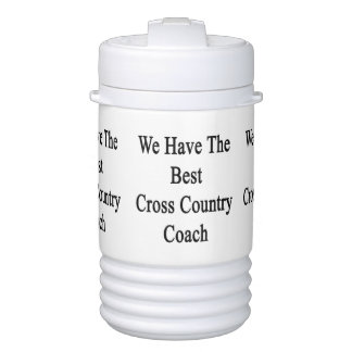 We Have The Best Cross Country Coach Igloo Beverage Dispenser