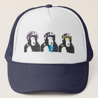 We Hear, We Speak, We See Things Trucker Hat