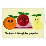 We heard it through the grapevine... birthday card