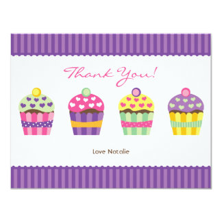 """We """"Heart"""" Cupcakes Note Card"""