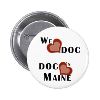 We Heart Doc Pinback Button