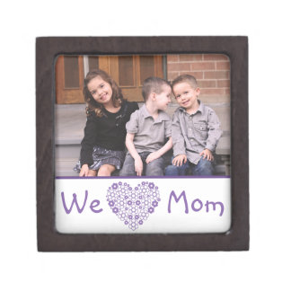 We Heart Mom Photo Gift Box