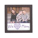 We Heart Mom Photo Gift Box Premium Gift Box